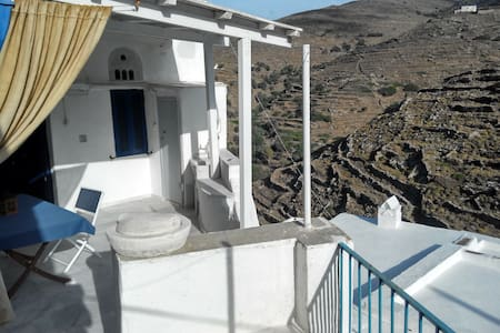 Traditional cycladic village house with character - Panormos - Dům