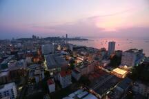 Panoramic View of Pattaya