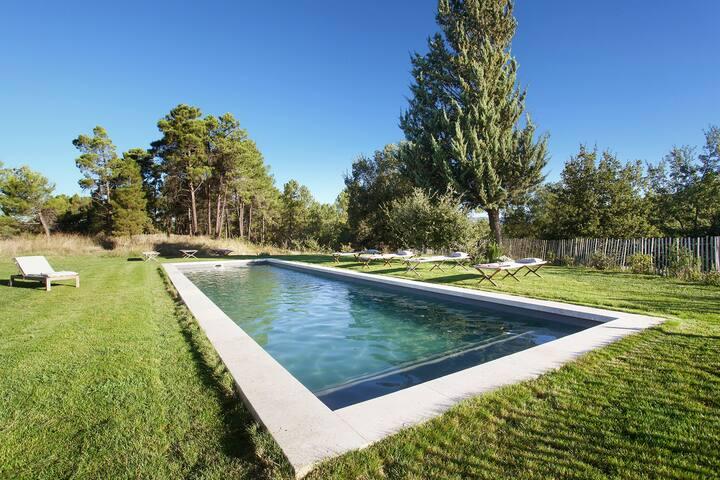 Provence, luxury cottage, stone farmhouse, pool