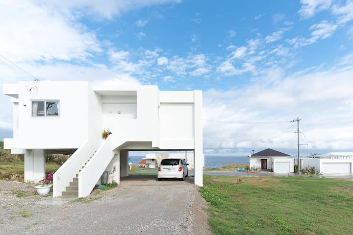 You can enjoy beautiful ocean view. - Kunigami District - Huis