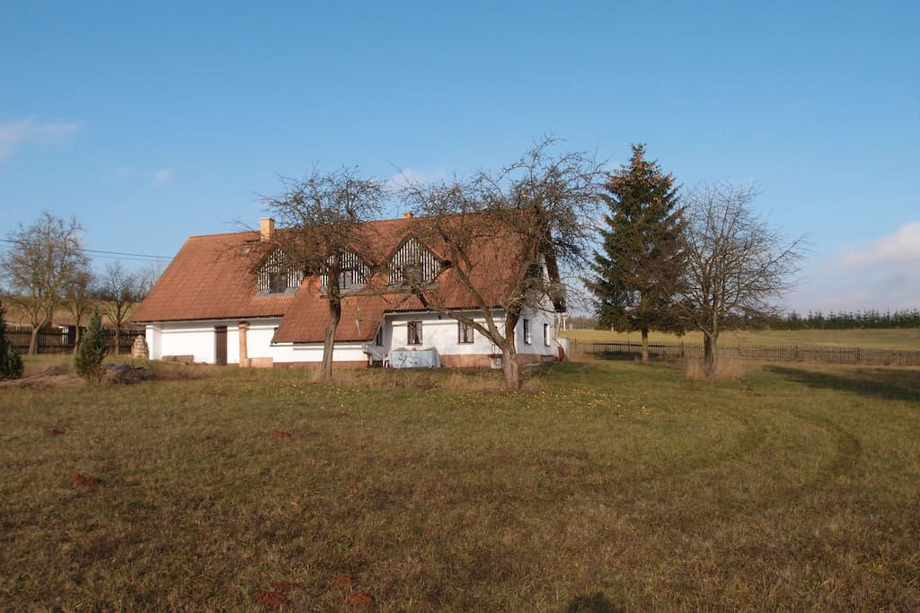 14.000sq.m. of land and garden