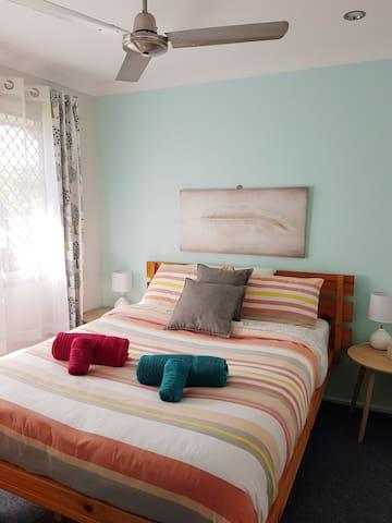 Beautiful cosy room in quiet area close to tram