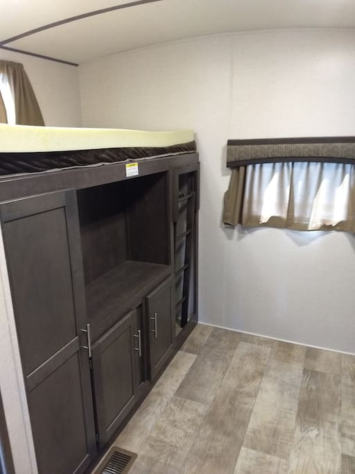 Bunk and storage