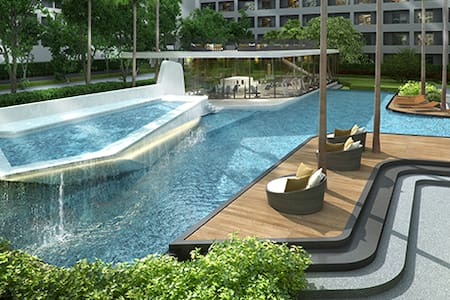 Quiet and luxurious oasis in the heart of Bangkok - Bangkok - Condominium