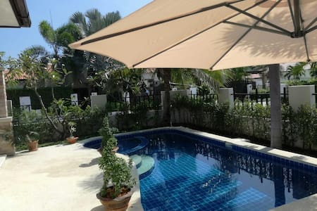 Very nice Villa with swimming pool.. - Hin Lek Fai - Huis