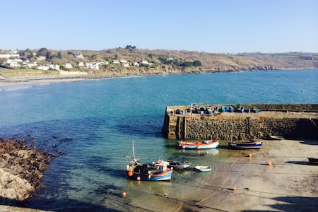 Seafront sanctuary Cornwall JANUARY DISCOUNT - Coverack