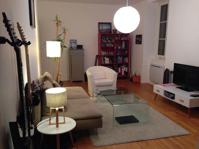 Chambre dans appartement de charme