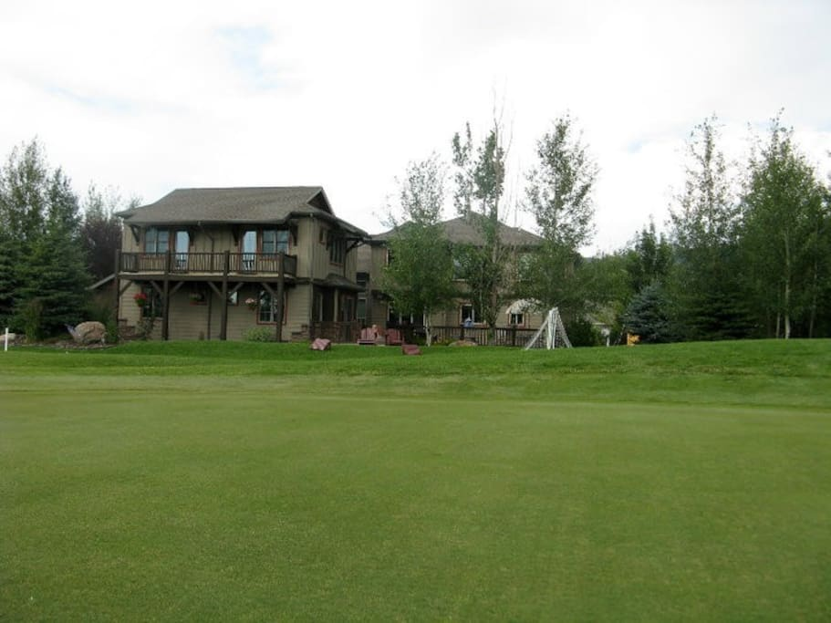 Guest suite - View from 17th green