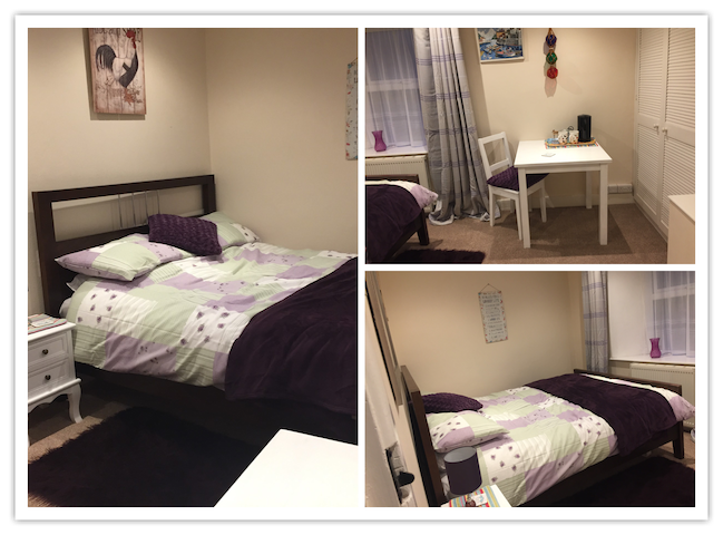 Dog friendly double room great for single guests