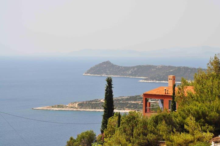 The Red House, carefree vacation w sea view! - Schinias, Marathonas - Ev
