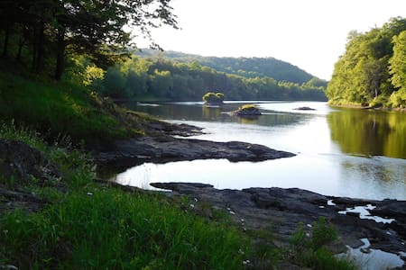 Secluded Paradise on the Connecticut  River, VT - Ryegate