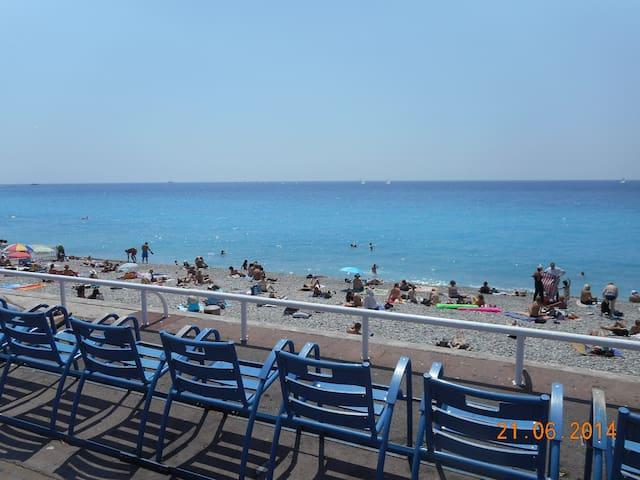 Joli 2 Pièces Balcon Plein Centre Nice 8mn Mer
