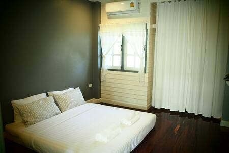 Dฺouble Bed,Ban Ing Yom Bed&Breakfast,Sukhothai - Tambon Thani - Guesthouse