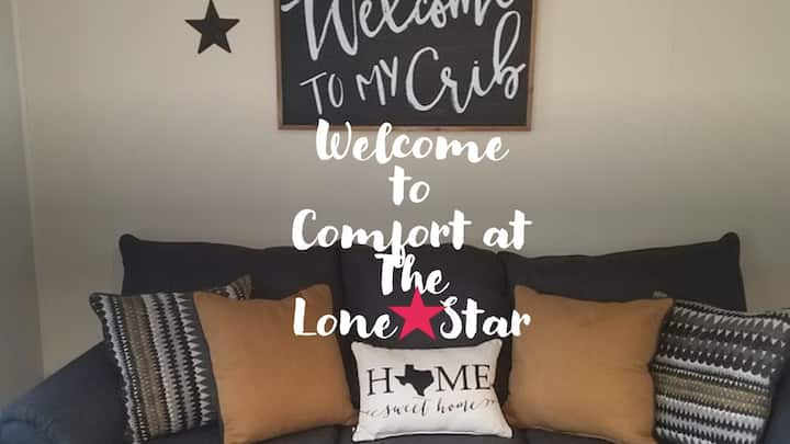 Comfort at the Lone⭐ Star
