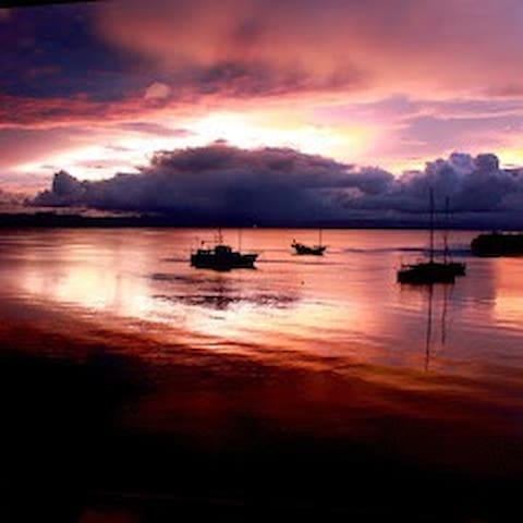 Sunset view overwater Loft EL Colectivo de Saigon
