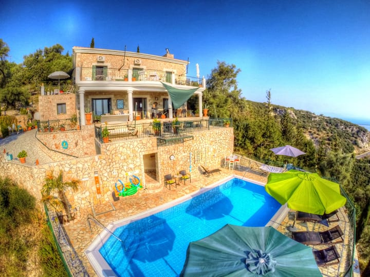 Ap. 65m² Lux Villa 2Terr. 2WC Seaview 9 min Strand