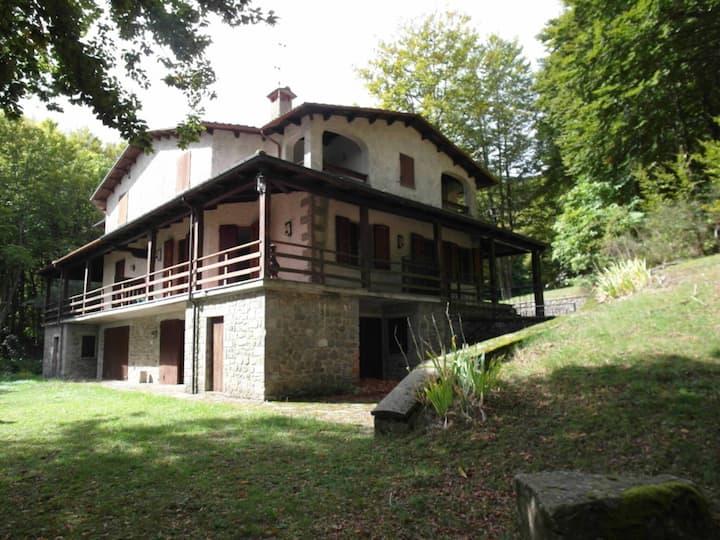 Mountain top Tuscan Villa ideal for 8, sleeps 12