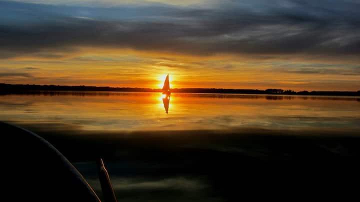 Ferienwohnung in unmittelbarer Seenähe