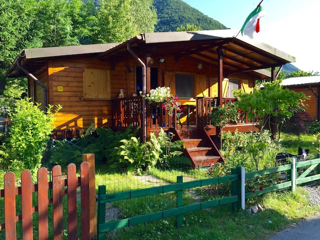 Luxury chalet direct at Lago Lugano