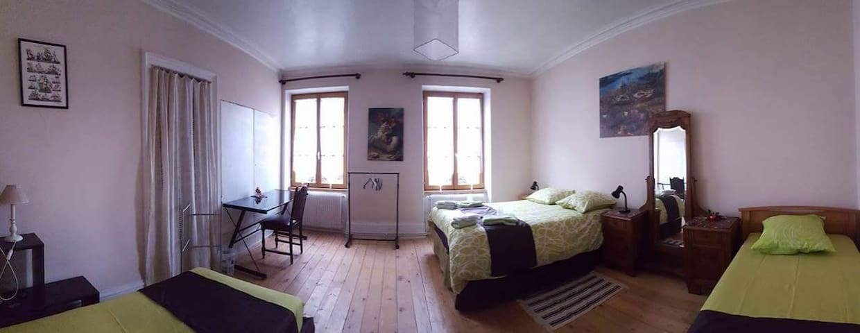Chambre type quadruple - Sainte-Marie-aux-Mines - Bed & Breakfast
