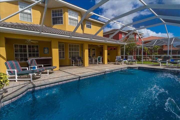 South facing pool means endless florida sun!