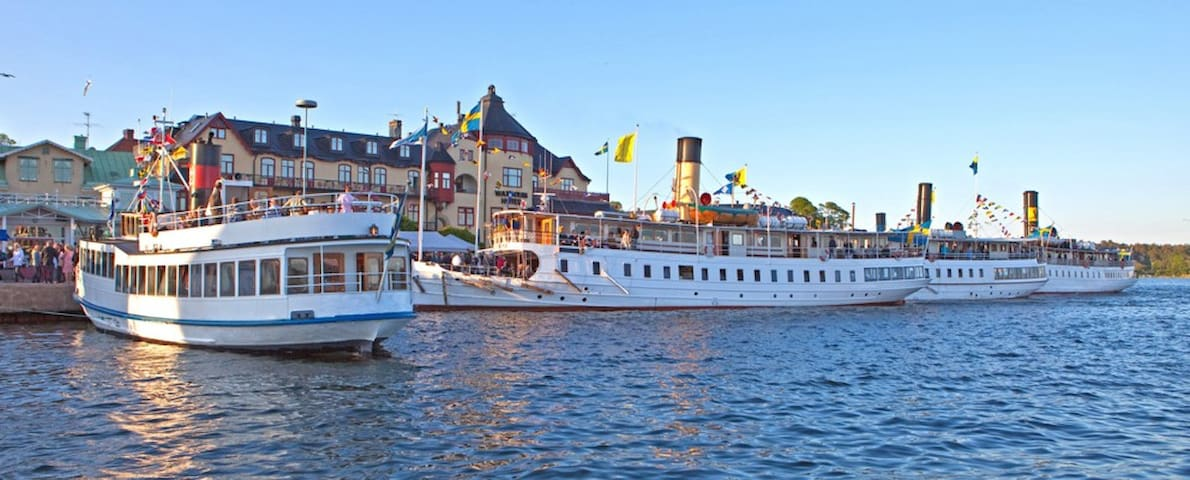 "Terra Nova 2 ""all inclusive""with south outdoor SPA - Vaxholm - Lejlighed"