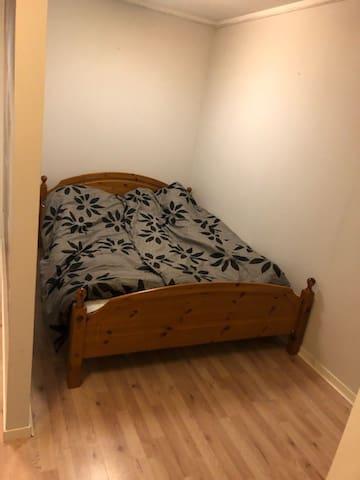 Hele leiligheten er tilgjengelig for gjester.