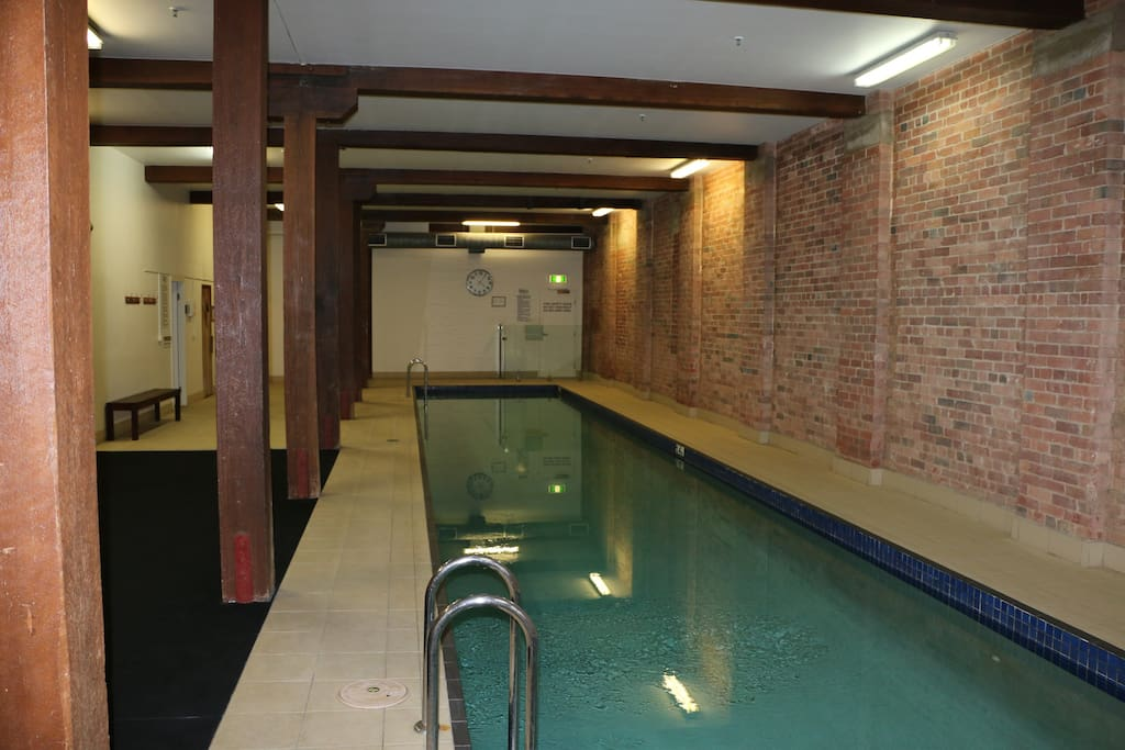 Indoor heated lap pool, Gym and Sauna