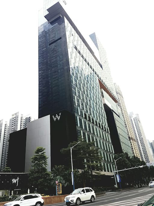 Day view of the building.