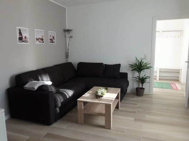 Neu renovierte und eingerichtete Wohnung