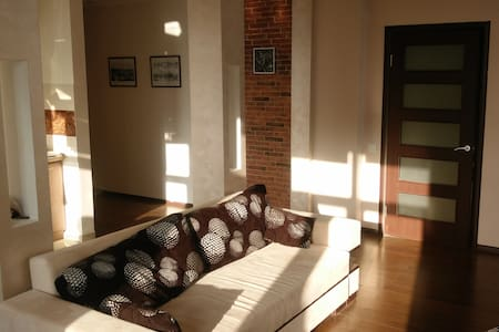 Luxury 2-bedroom apartment with view of theDnieper - Kiev - Apartment