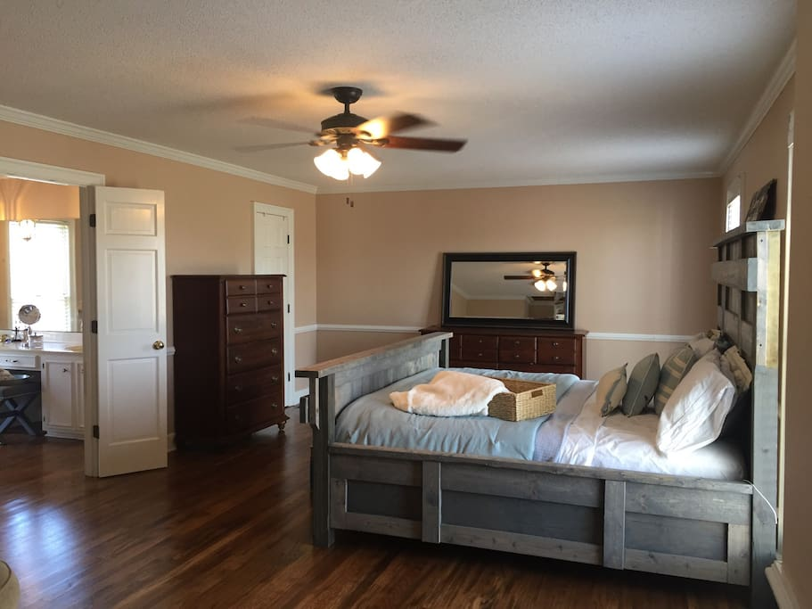 Oversized Master Suite. With sitting area (not pictured)