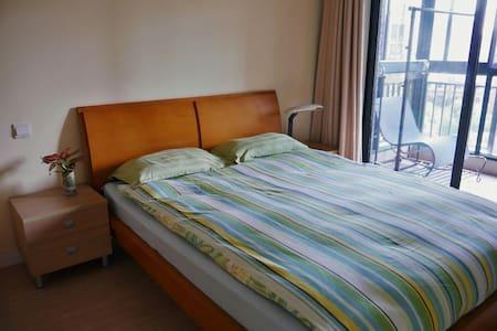 ☆Double-room & balcony TOP Location - Xangai - Pis
