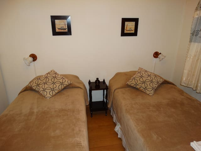 Habitación  Canela - 2 camas Centro