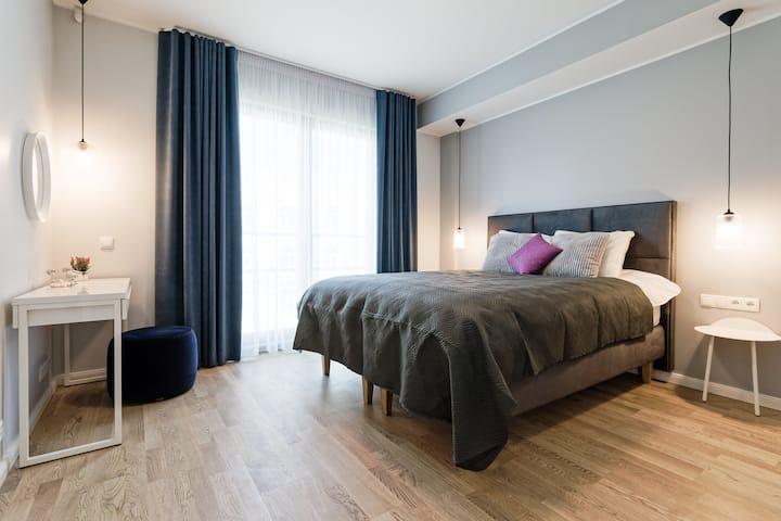 New Elegant 1-Bed Apartment in Centre of Tallinn