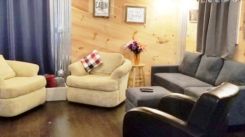 Cabin w/ View  • Off-Road Trails & Knoebels Nearby