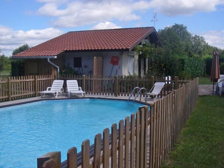 maison landaise & piscine 5 km Hossegor Océan