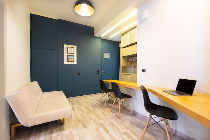 Modern apartment in the historic center