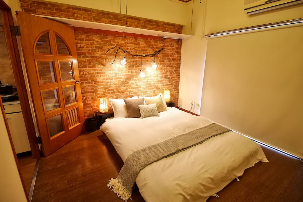huge space for 2 people comfortable stay