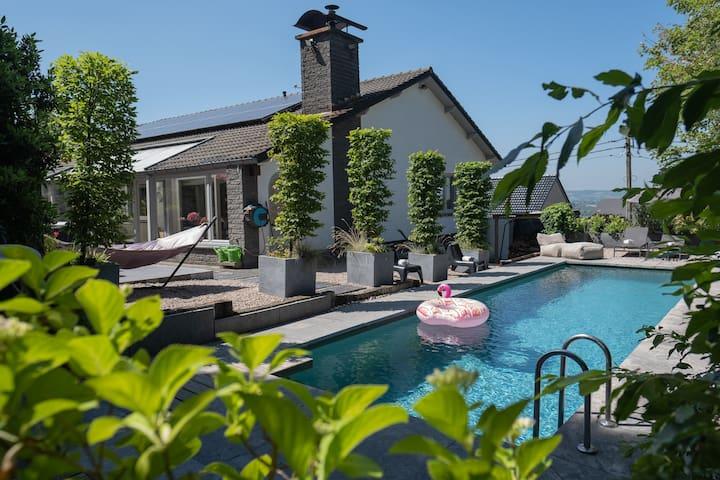 Casa-Liesy mit Jacuzzi+Pool und Sauna +Kamin