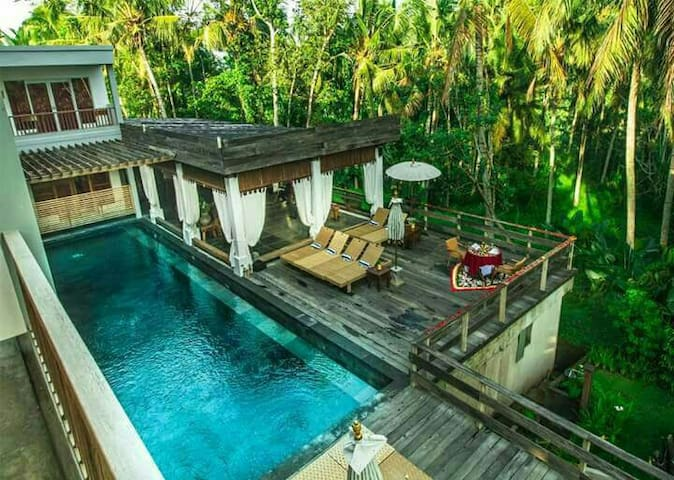 Room with pool at Ubud - Ubud - Apartamento