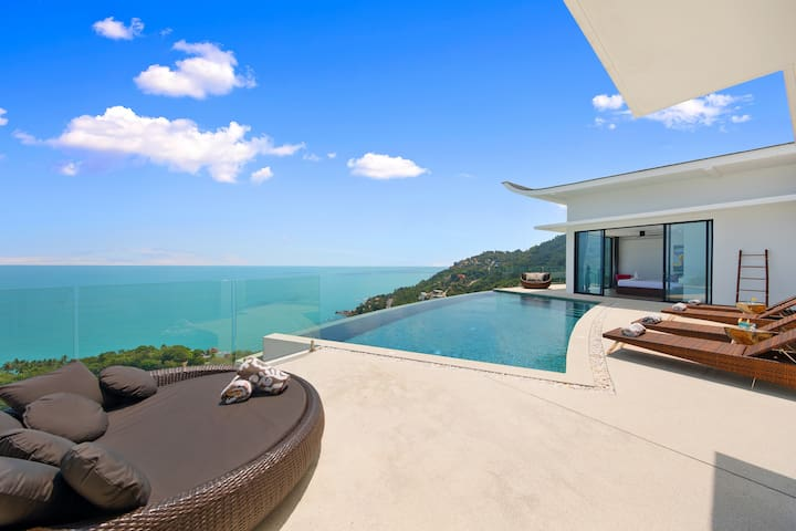 Sunny Moon Villa 180 Sea View