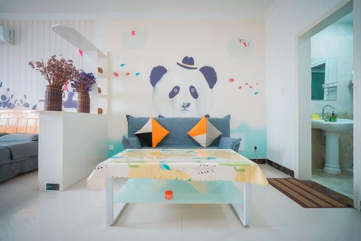 临商圈温馨一居室之PANDA