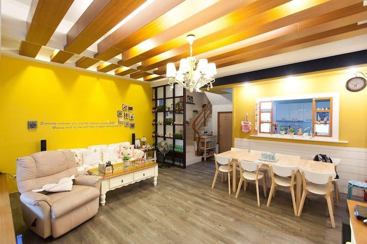 宜蘭 12 輕旅 House ~只要八人就可包棟喔!歡迎您來玩!