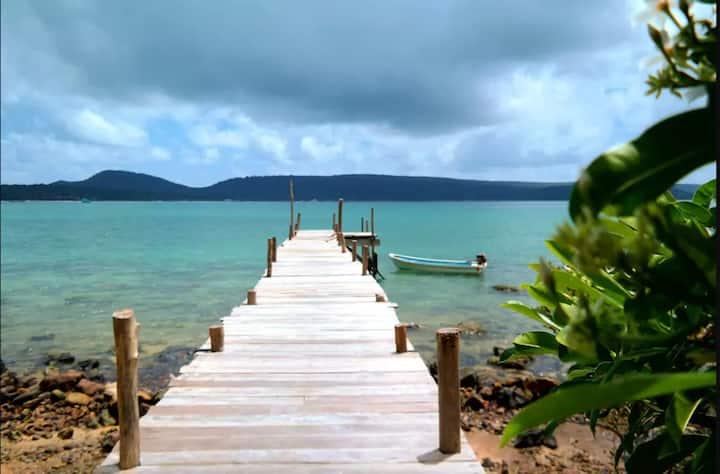 Sea View Bungalow 5 @ Jungle Bay Eco-lodge