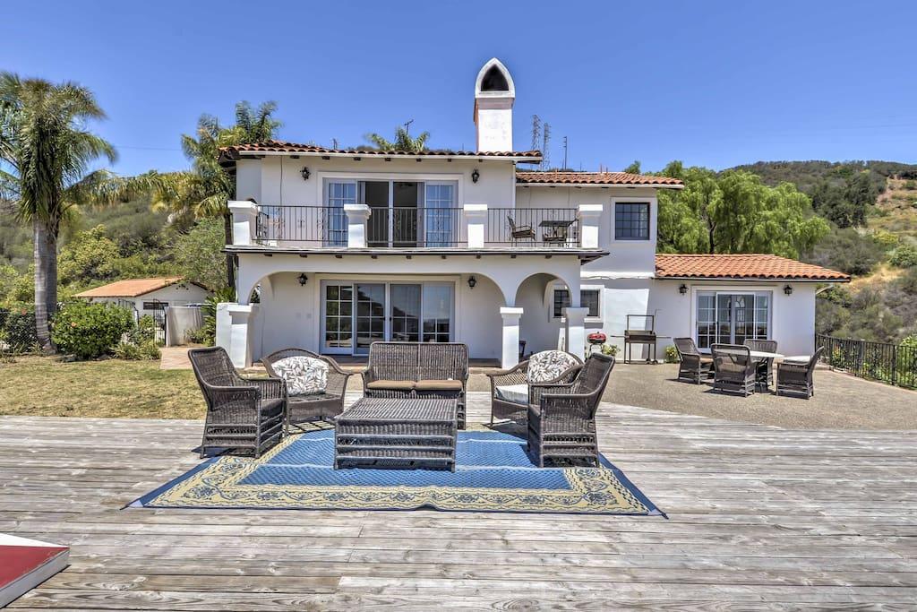 New 4br santa barbara home w serene mountain views for New house santa barbara