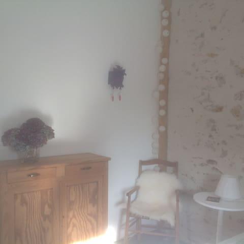 Belle chambre à proximité Nantes et aeroport - Bouaye - Talo