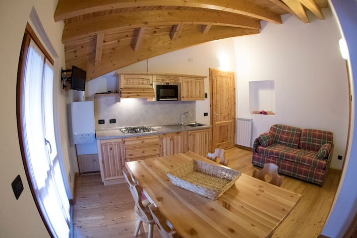 Penthouse in the Alps - Corteno Golgi - Bed & Breakfast