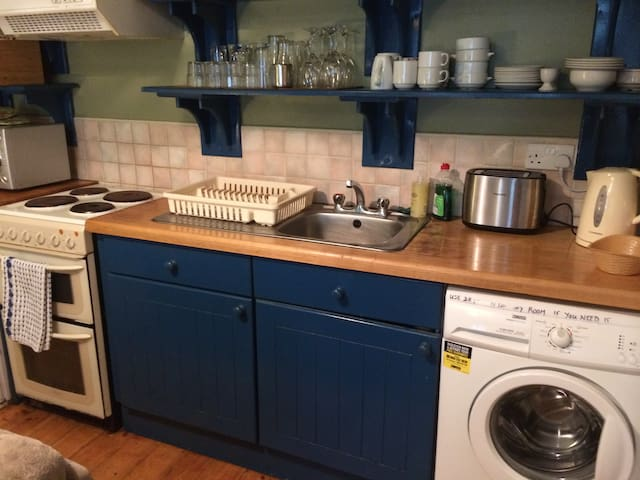 Cooker ,  Washer  and  kitchen  stuff