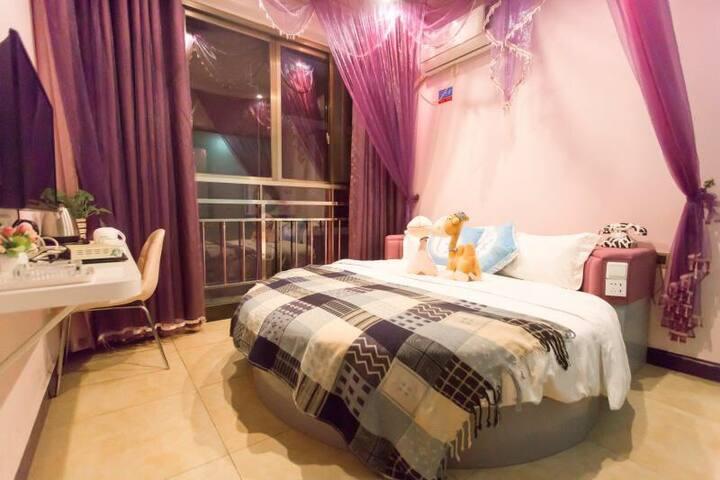 Romantic Bed Room | Near Railway Station